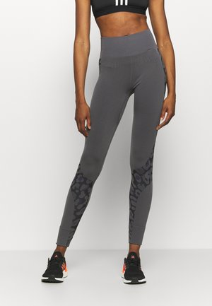 TRUEPUR  - Leggings - granite/black