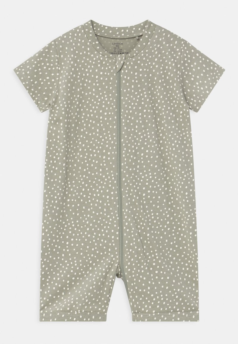 Lindex - RABBIT AT BACK UNISEX - Pyjamas - dusty green