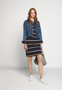 Barbour - STOKEHOLD DRESS - Jersey dress - navy - 1
