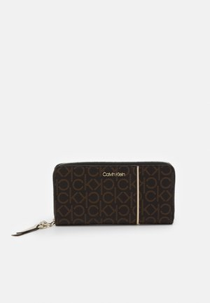 WALLET PIPING - Wallet - brown