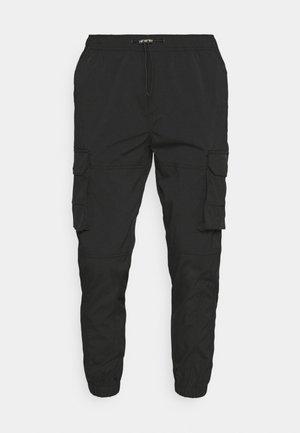 JJIGORDON JJROSS - Cargo trousers - black