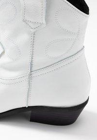 Steven New York - IVA WESTERN - Cowboystøvletter - white - 2
