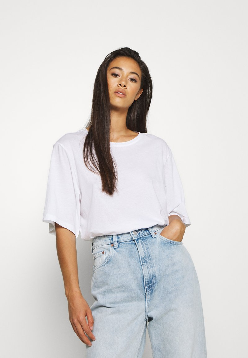 Weekday - ISOTTA - T-shirts - white
