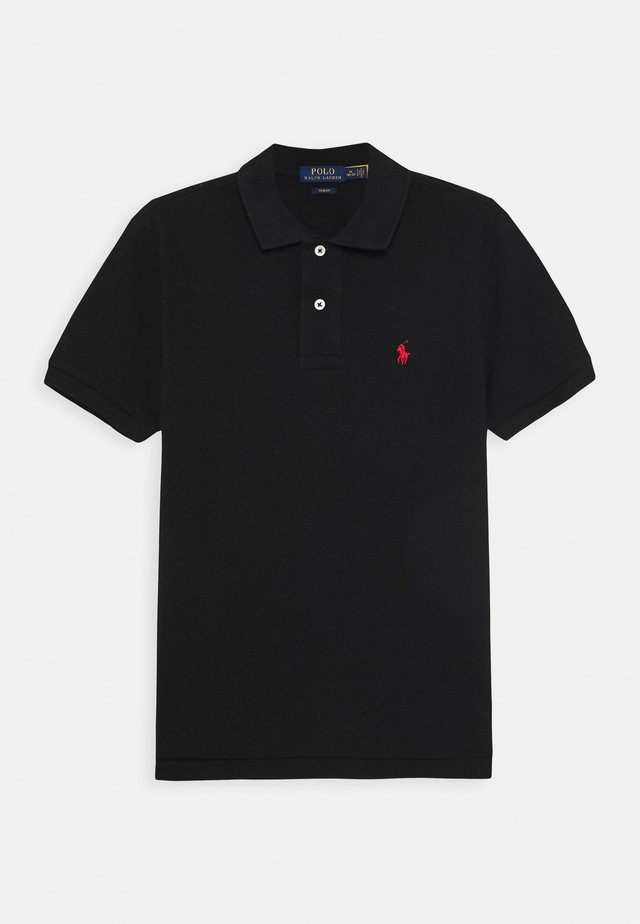 CUSTOM FIT - Polo shirt - black