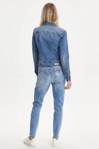 PULZ - PZSIRA  - Denim jacket - light blue denim - 3