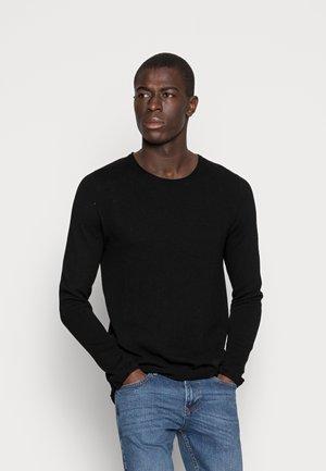 SLHROCKY  - Stickad tröja - black