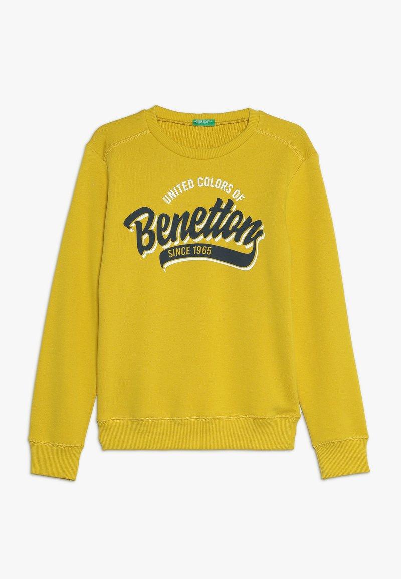 Benetton - Sweatshirts - yellow