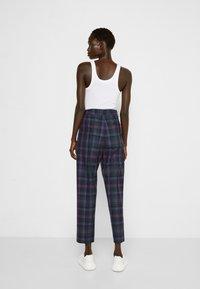 Vivienne Westwood - GEORGE  - Trousers - purple/green - 2