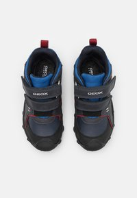 Geox - BULLER BOY ABX - Classic ankle boots - navy/dark red - 3