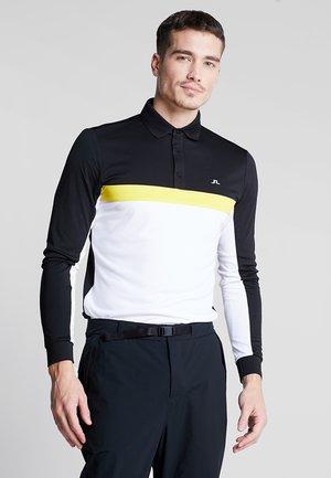 ETHAN SLIM FIT TX  - Polo shirt - black
