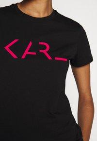 KARL LAGERFELD - LEGEND LOGO - T-Shirt print - black - 7