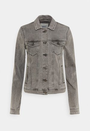 ONLTIA JACKET - Denim jacket - grey denim