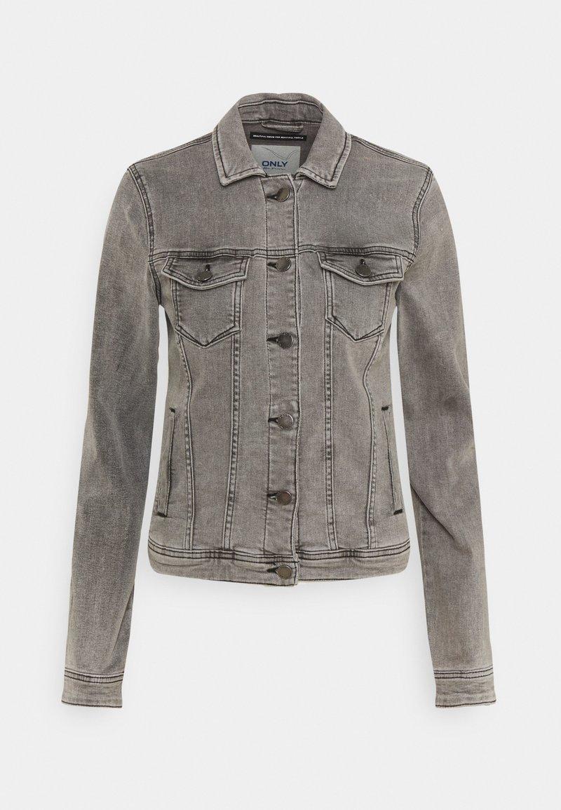 ONLY Tall - ONLTIA JACKET - Denim jacket - grey denim