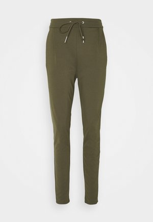 VMEVA LOOSE STRING PANTS  - Trousers - tarmac
