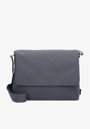 BERGEN MESSENGER M 32 CM LAPTOPFACH - Schoudertas - dark grey
