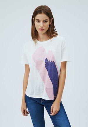 ALEXA - Print T-shirt - mousse