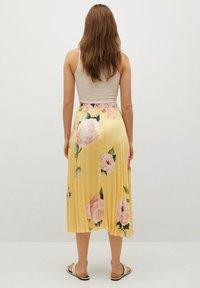 Mango - A-line skirt - gelb - 2
