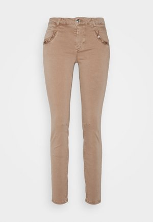 JEWEL PANT - Trousers - burro camel