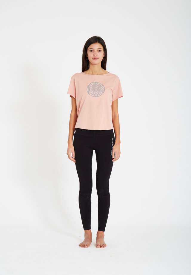 T-shirt imprimé - blush