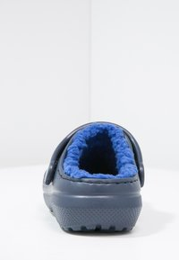 Crocs - CLASSIC LINED - Pantolette flach - navy/cerulean blue - 3