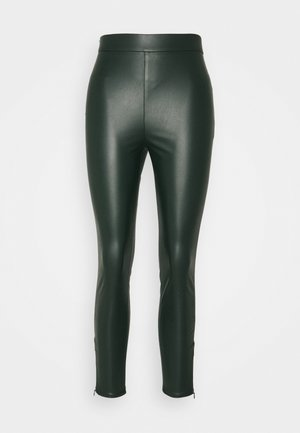 Leggings - emerald green