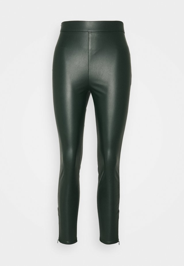 Legging - emerald green