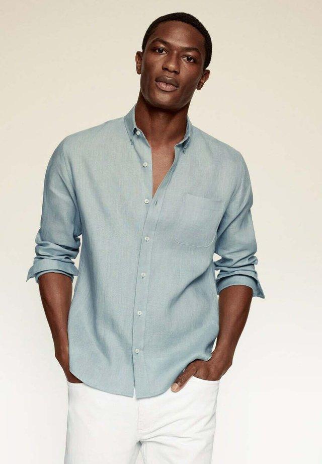 SLIM FIT - Shirt - wassergrün