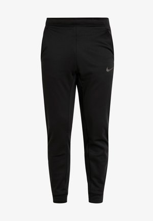 PANT TAPER - Tracksuit bottoms - black/mtlc hematite