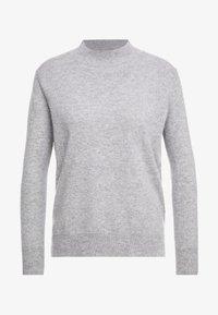pure cashmere - MOCKNECK  - Jumper - light grey - 3