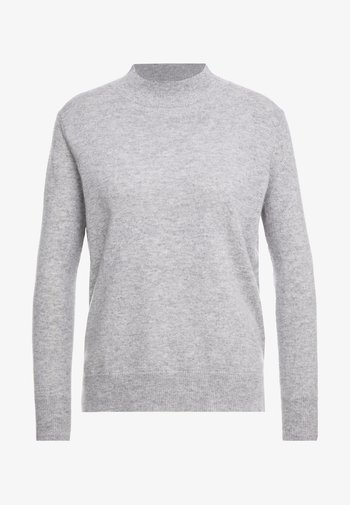 MOCKNECK - Jumper - light grey