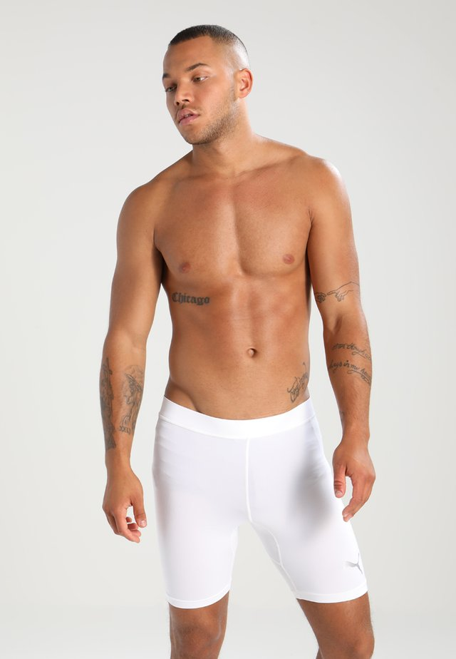 LIGA BASELAYER SHORT  - Culotte - white