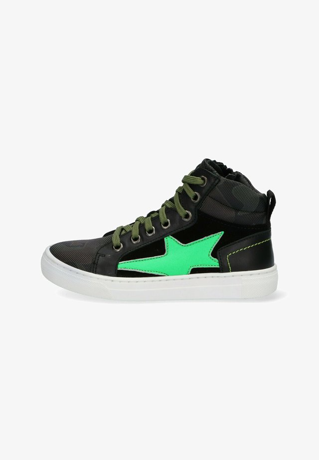 DIGGY DAY - High-top trainers - black