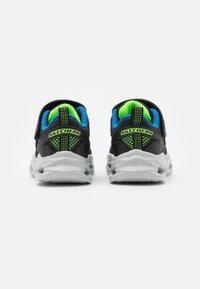 Skechers - VORTEX FLASH - Trainers - black/blue/lime - 2