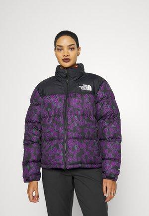 PRINTED RETRO NUPTSE JACKET - Down jacket - purple