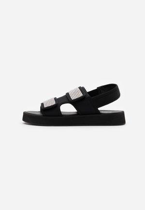 DIAMANTE GRANDAD - Sandalias con plataforma - black