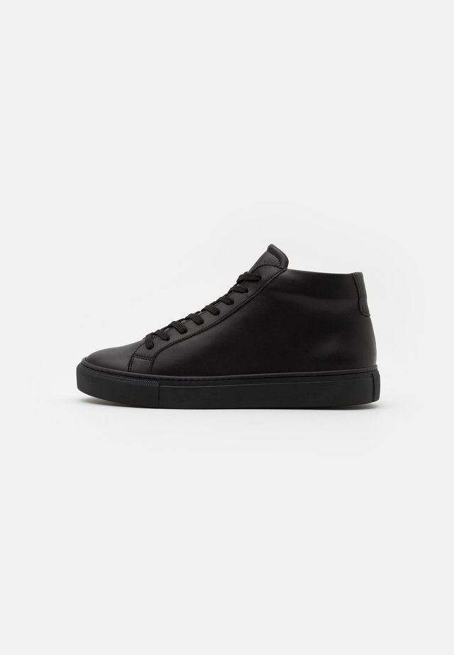TYPE SOLE VEGAN - Baskets montantes - black