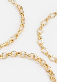 Pieces - PCFAISE 3 ACK BRACELET  - Bracelet - gold - 2