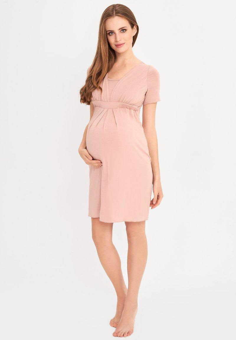 Cool Mama - BAMBOO MATERNITY & NURSING  BASIC - Negligé - pink