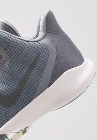 Nike Performance - PRECISION III - Basketball shoes - cool grey/dark grey/platinum tint/lab green - 5