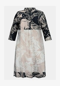 Ulla Popken - Shirt dress - sand - 1