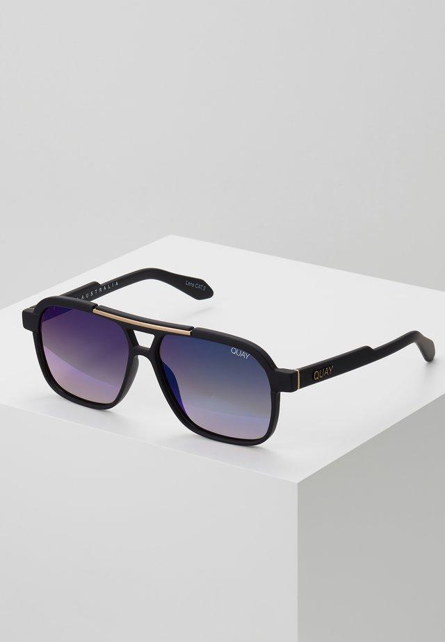 NEMESIS - Occhiali da sole - matte black/navy