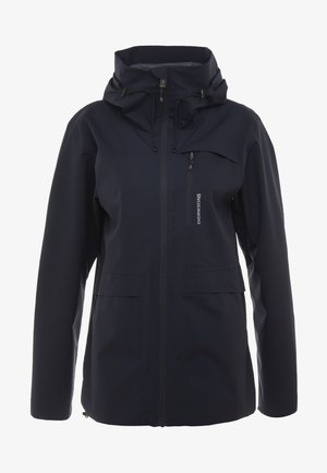 WIDA WOMENS JACKET - Hardshell jacket - dark night blue