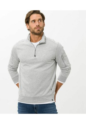 STYLE SION - Sweatshirt - platin