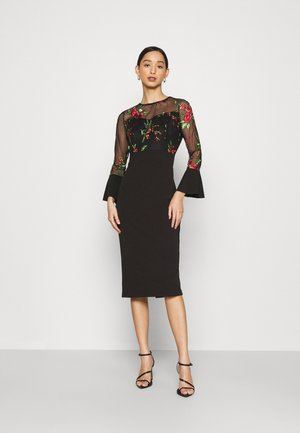 MIDI DRESS - Cocktailjurk - black