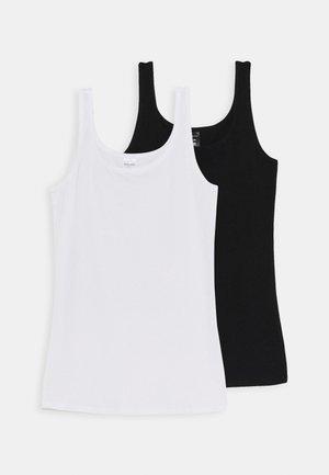 TEENS TOPS 95/5 2 PACK - Tílko - white/black