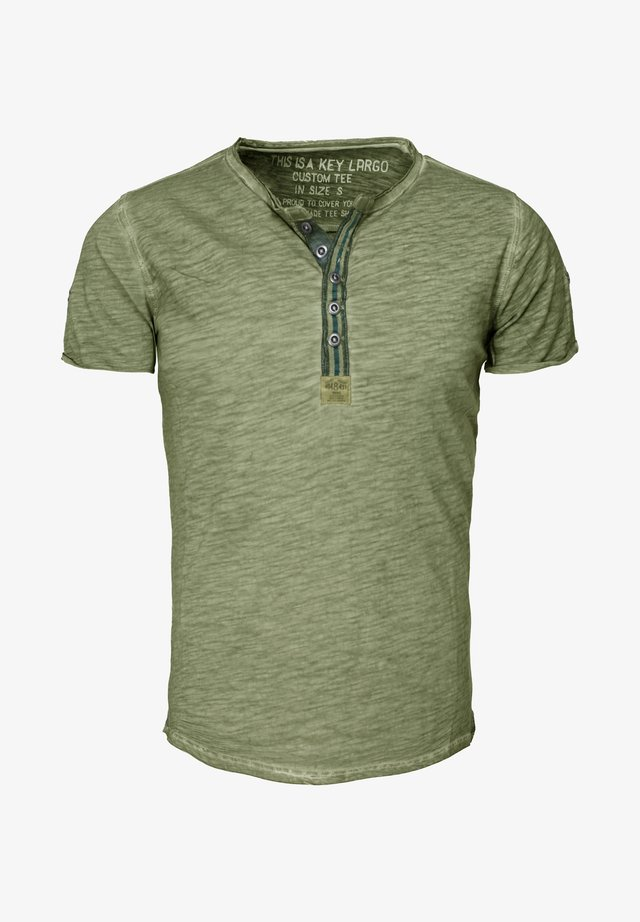 ARENA - Print T-shirt - green