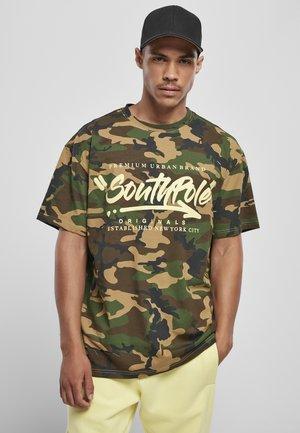 Print T-shirt - korean camo