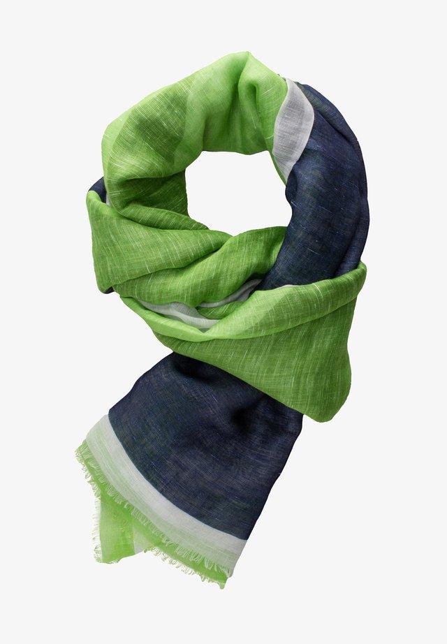 Écharpe - grün/blau