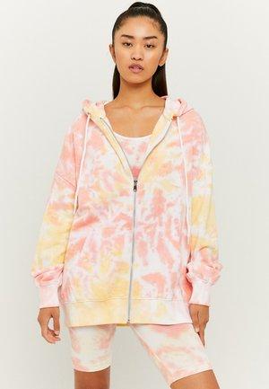 OVERSIZE - Zip-up sweatshirt - multicolor