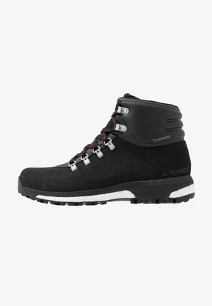 TERREX BOOST COLD.RDY RAIN.RDY HIKING SHOES - Hiking shoes - core black/scarlet